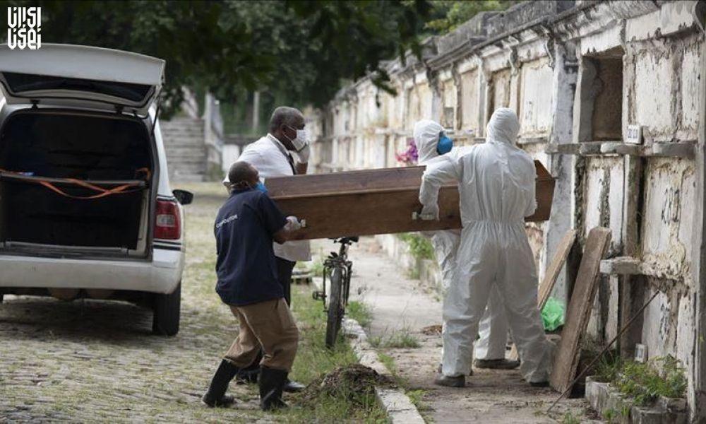 رکورد مرگ بر اثر کرونا در عرض ۲۴ ساعت در مکزیک و برزیل