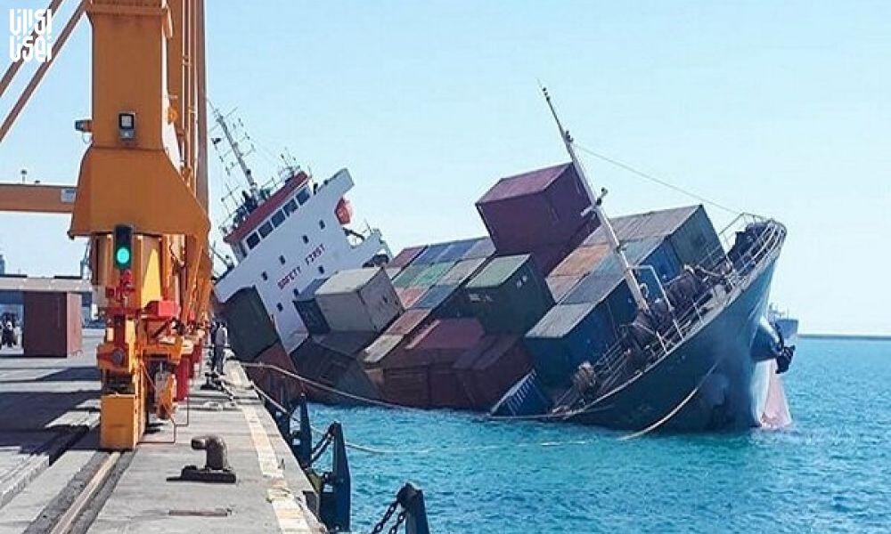 جزئیات تازه ازکشتی ایرانی غرق شده در بندر عراقی/ ۲ نفرفوتی تاکنون