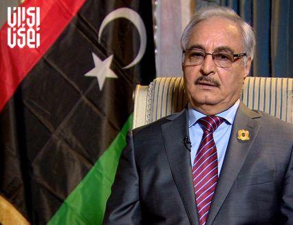 موافقت خلیفه حفتر با آتشبس در لیبی