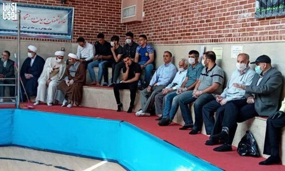 اعتراض به حضور بانوان در ورزش های زورخانه ای توسط جمعی از پیشکسوتان