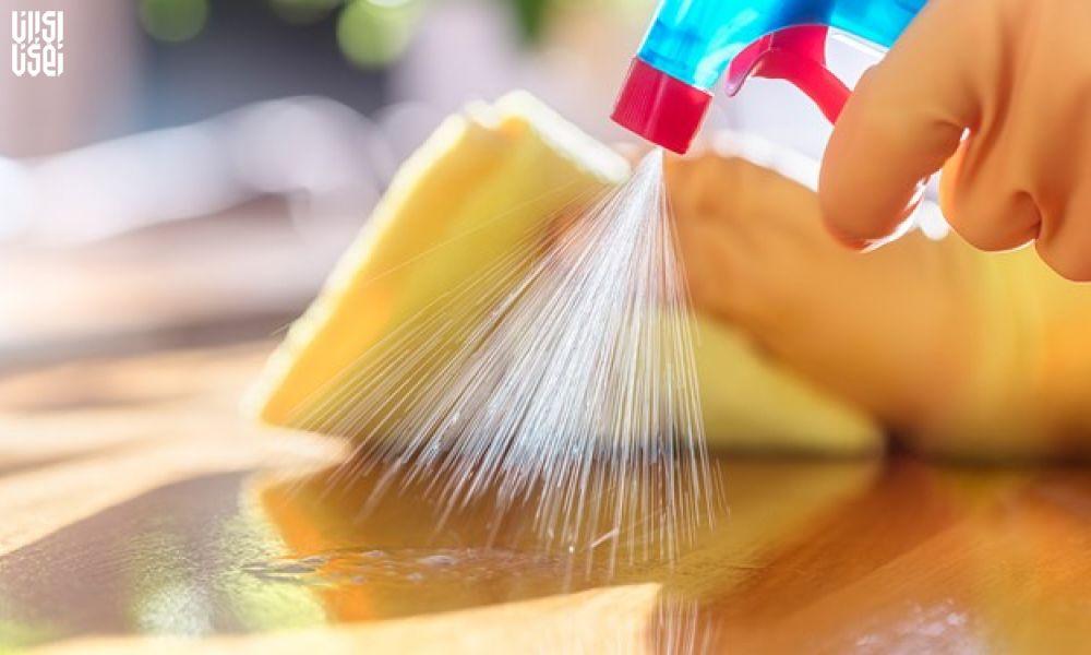 برای مقابله با کرونا سطوح چوبی را ضدعفونی کنید