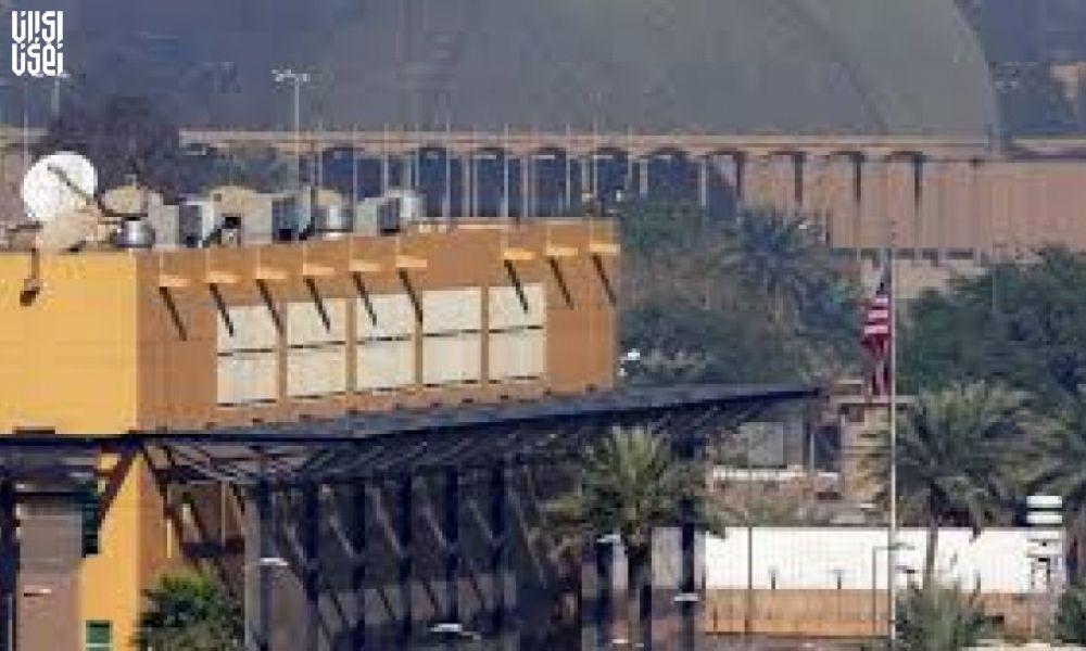 اصابت موشک به سفارت آمریکا در بغداد