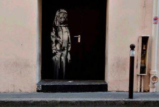 نقاشی گمشده بنکسی در ایتالیا یافت شد