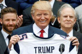 ترامپ تیم ملی کشورش را تهدید به تحریم کرد!