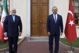 دیدار وزرای امور خارجه ایران و ترکیه