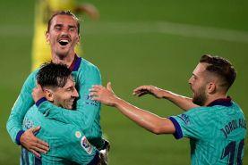رقابت جذاب بارسلونا و رئال مادرید در راه رسیدن به قهرمانی