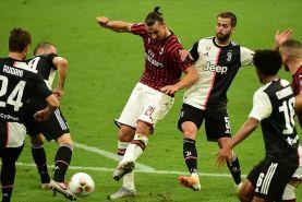 فوتبال در اروپا؛ شکست سنگین یوونتوس مقابل میلان و تساوی آرسنال