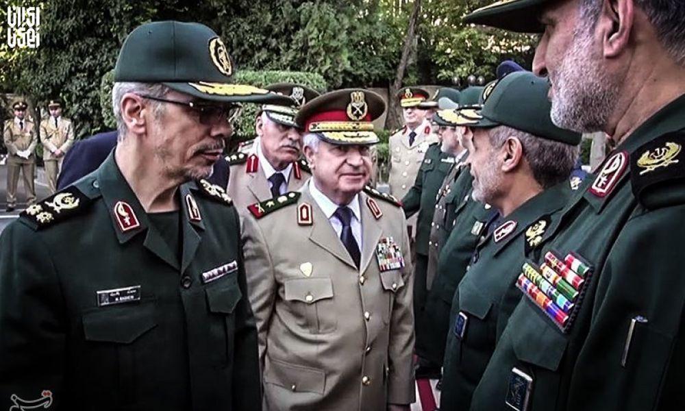 امضای توافقنامه همکاری نظامی و امنیتی ایران و سوریه