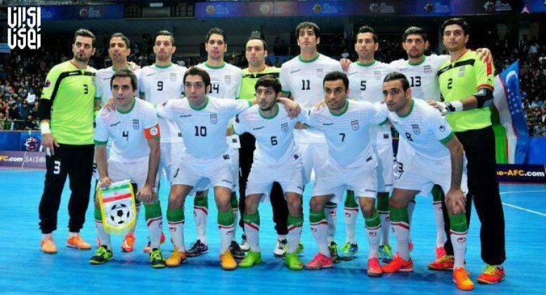 تازهترین رده بندی تیم های ملی فوتسال جهان اعلام شد
