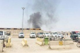 خسارات حمله موشکی به پایگاه التاجی عراق