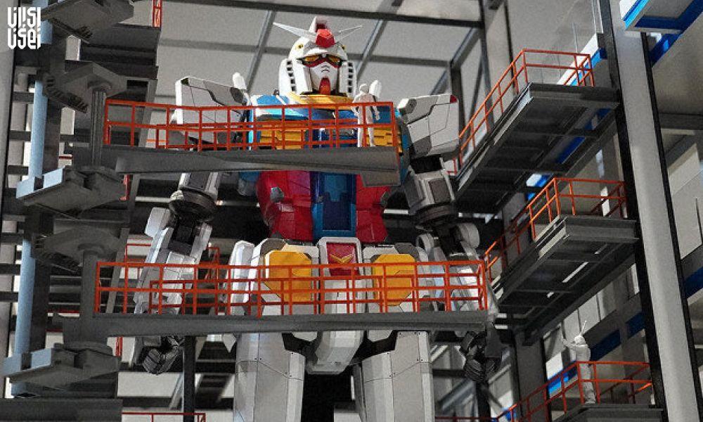 ساخت ربات 18 متری در ژاپن با الهام از یک انیمیشن!