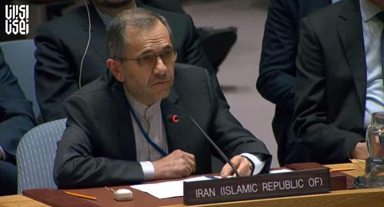 تختروانچی: شورای امنیت با قطعنامه جدید آمریکا هم مخالفت میکند
