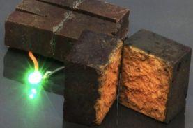 آجرهای ساختمانی به باتری تبدیل می شوند!