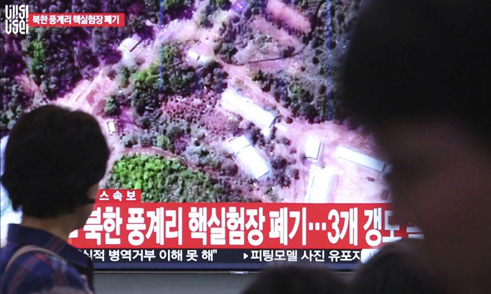 آسیب به رآکتور اتمی کره شمالی در سیل اخیر