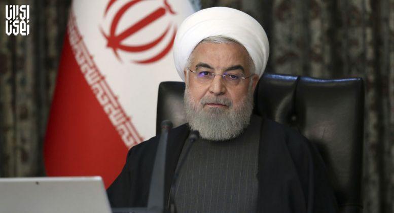 قدردانی روحانی از چین و روسیه در مخالفت با تحریم های آمریکا