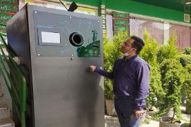 تفکیک زباله های خشک با استفاده از هوش مصنوعی در تهران
