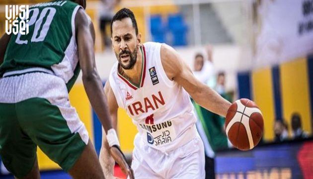 بسکتبال انتخابی کاپ آسیا ؛ برتری تیم ملی ایران مقابل عربستان