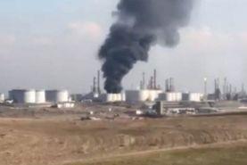 آتش سوزی در پالایشگاه نفت اربیل عراق و کشته شدن سه نفر از کارکنان