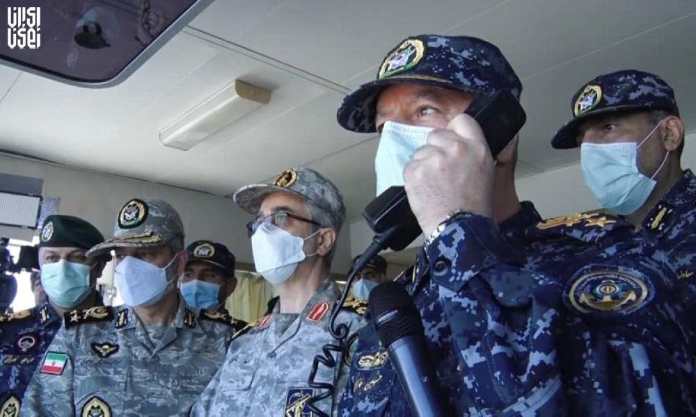 آغاز رزمایش دریایی ارتش با رونمایی از قدرت فناوری نظامی در عرصه دریا