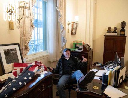ادامه تحقیقات در رابطه با مهاجمان کنگره آمریکا/فروش لپتاپ پلوسی به روسها