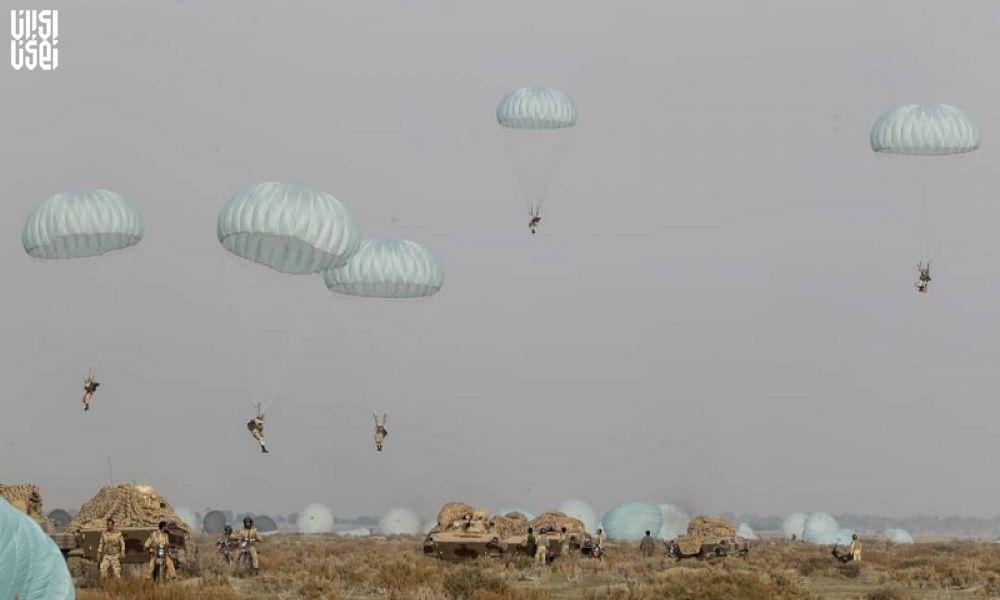 عملیات مشترک هوابرد با تجهیزات مکانیزه هجومی برای نخستین بار