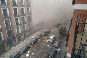 انفجار مهیب در پایتخت اسپانیا