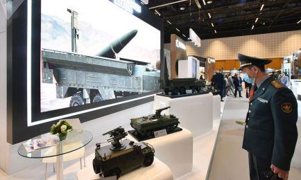 پانزدهمین نمایشگاه تجهیزات دفاعی «آیدکس» ابوظبی
