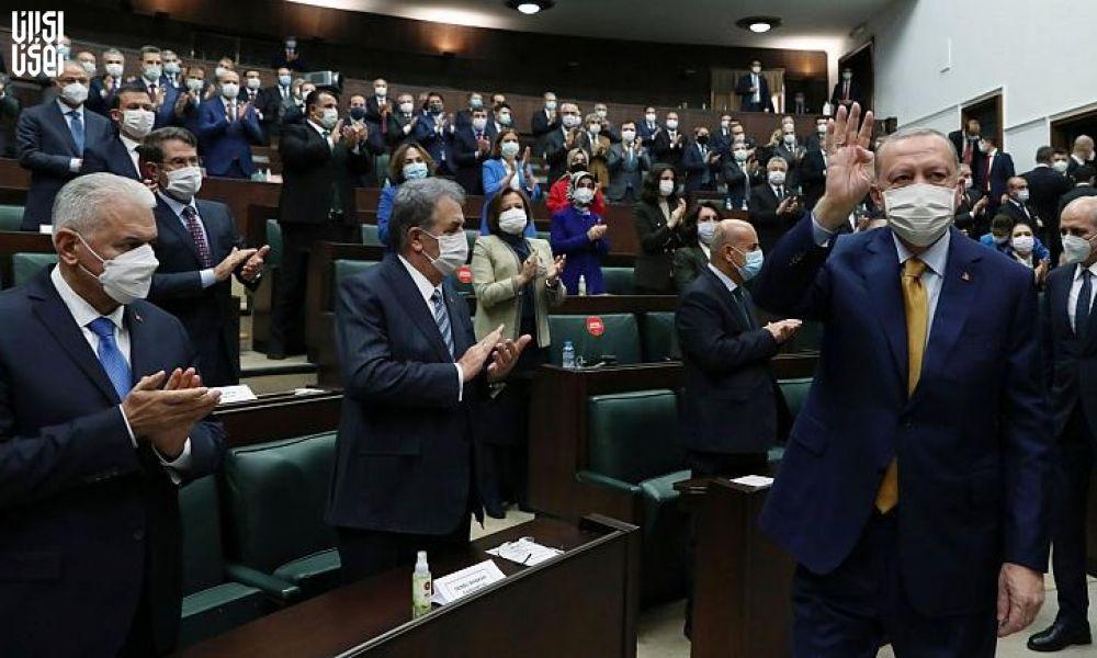 مجلس ترکیه مصونیت پارلمانی نمایندگان طرفدار  اپوزوسیون دولت را لغو میکند