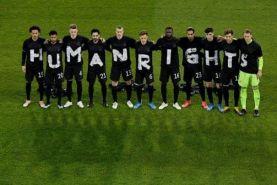 اعتراض حقوق بشری تیم های اروپایی به میزبانی قطر از جام جهانی
