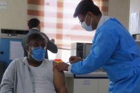 واکسیناسیون بیماران خاص  تالاسمی و دیالیزی در دیلم استان بوشهر