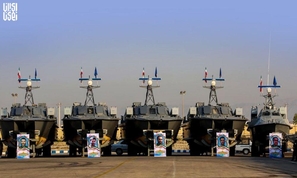 تحولی بزرگ در نیروی دریایی سپاه رونمایی ازنسل جدید شناورهای رزمی ایران