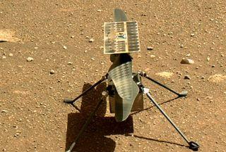 فرود بالگرد ناسا در مریخ