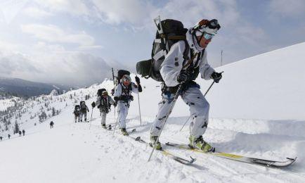 مسابقه کوهنوردی و اسکی  ارتشی روسیه