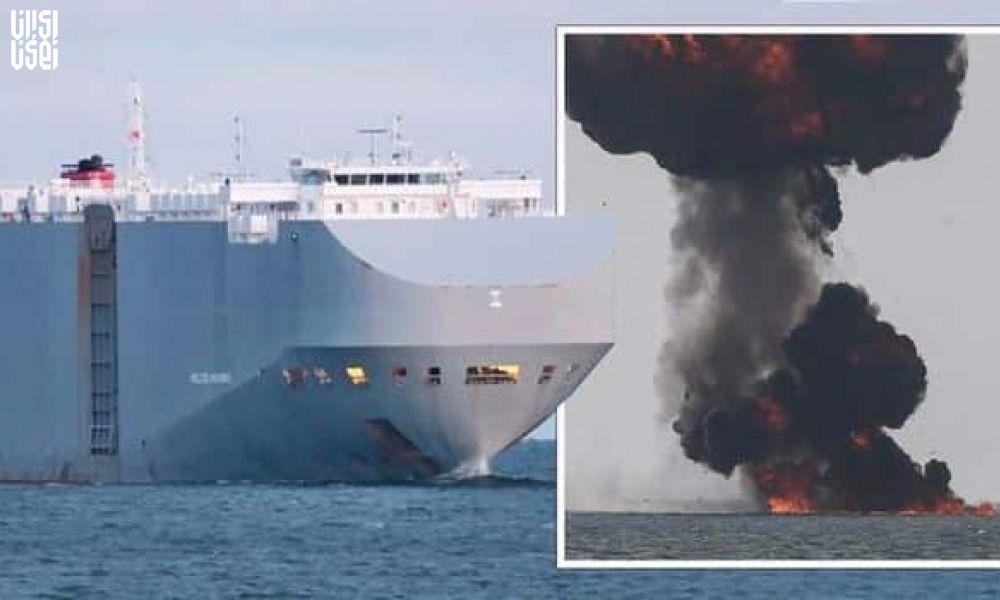 هدف قرار گرفتن یک کشتی اسرائیلی در سواحل امارات