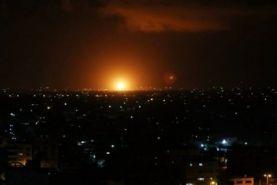 قارچ انفجاری در اسرائیل را همه دیدند