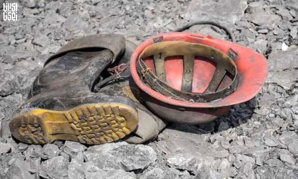 ریزش معدن طرزه دامغان ؛ تلاش برای نجات 2 کارگر محبوس ادامه دارد