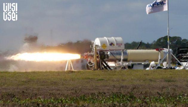 آزمایش موتور سوخت جامد در موشکهای مافوق صوت آمریکا