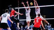 تیم ملی والیبال آلمان در مصاف با ایران به پیروزی رسید