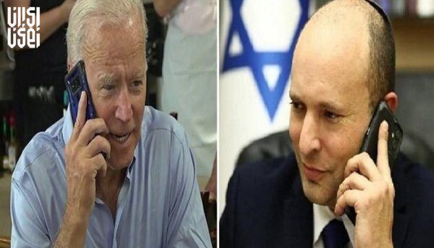 گفتگو تلفنی جو بایدن ونخست وزیر جدید رژیم صهیونیستی