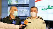 فرمانده ناجا،انتخابات در امنیت وآرامش کامل در حال برگزاریست