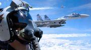 متواری شدن بمبافکن های راهبردی آمریکایی از مرزهای روسیه  توسط جنگند ه های روسی