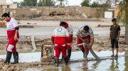 خدمات هلال احمر به  استان 15 استان  کشور در حوادث جوی اخیر