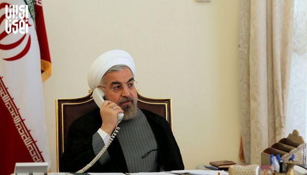 گفت و گوی تلفنی رئیس جمهور با امیر قطر