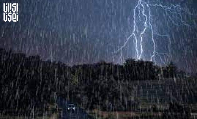 تداوم بارش های پراکنده در شمال کشور