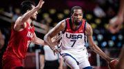 بسکتبال ایران و آمریکا در المپیک ؛ شکست قابل قبول بلندقامتان