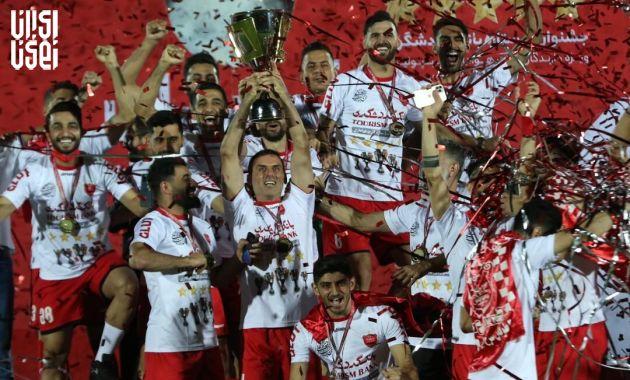 گلات قهرمانی پرسپولیس در لیگ برتر ؛ سایپا سقوط کرد