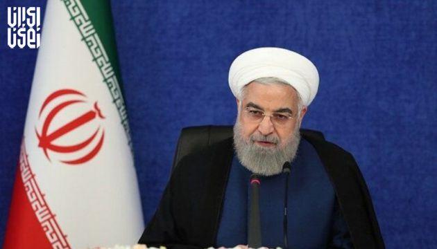 روحانی : در طول شیوع کرونا کمبود تخت بیمارستانی نداشتیم