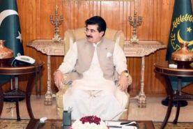 رئیس مجلس سنای پاکستان راهی ایران شد