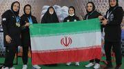 قدرت نمایی بانوان ایران در مسابقات مچاندازی قهرمانی آسیا