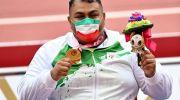 حامد امیری قهرمان پرتاب نیزه پارالمپیک شد